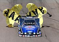 Feb 23, 2014; Chandler, AZ, USA; NHRA funny car driver Robert Hight during the Carquest Auto Parts Nationals at Wild Horse Motorsports Park. Mandatory Credit: Mark J. Rebilas-USA TODAY Sports