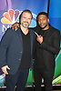 Tyler Labine and Jocko Sims of &quot; New Amsterdam&quot; attends the NBC New York Fall Junket on September 6, 2018 at The Four Seasons Hotel in New York, New York, USA. <br /> <br /> photo by Robin Platzer/Twin Images<br />  <br /> phone number 212-935-0770
