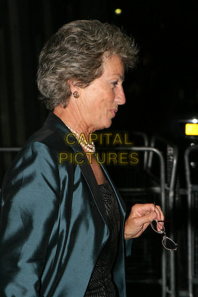 VIRGINA WADE.Leaving the Wimbledon Champions dinner at the Savoy Hotel, London,.4th July 2004..half length .www.capitalpictures.com.sales@capitalpictures.com.©Capital Pictures
