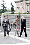 Princess Letizia of Spain visits the exhibition 'El trazo Espanol en el British Museum. Dibujos del Renacimiento a Goya' (Spanish drawings from the British Museum. Renaissance to Goya) at the Prado Museum.May 14,2013. (ALTERPHOTOS/Acero)