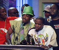 Outkast accepts their award at The Source Hip-Hop Music Awards 2001 at the Jackie Gleason Theater in Miami Beach, Florida.  8/20/01  Photo by Scott Gries/ImageDirect