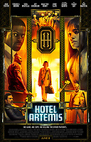 Hotel Artemis (2018)<br /> POSTER ART<br /> *Filmstill - Editorial Use Only*<br /> CAP/MFS<br /> Image supplied by Capital Pictures