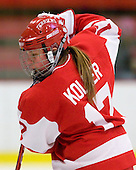 Laurel Koller (BU - 17) - The Northeastern University Huskies defeated the Boston University Terriers in a shootout after being tied at 4 following overtime in their Beanpot semi-final game on Tuesday, February 2, 2010 at the Bright Hockey Center in Cambridge, Massachusetts.