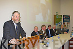 Johnny O'Connor at the Farmbiz awards ceremony in the South Kerry Development building, Killorglin on Saturday evening