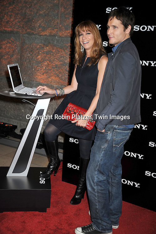 Jill Zarin and Peter Facinelli of Nurse Jackie and Twilight