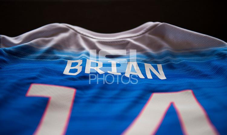 Harrison, NJ- May 26, 2015: Nike Uniforms