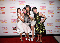 NEW YORK, NY - JUNE 4: Actresses Diane Guerrero ,Jackie Cruz ,Laura Gómez,Dascha Polanco attend The Fun, Fearless Latina Awards at The Hearst tower ,New York City ,June 4, 2014 ©HP/Starlitepics.com