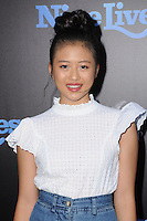 """01 August 2016 - Hollywood, California. Haley Tju. World premiere of """"Nine Lives"""" held at the TCL Chinese Theatre. Photo Credit: Birdie Thompson/AdMedia"""