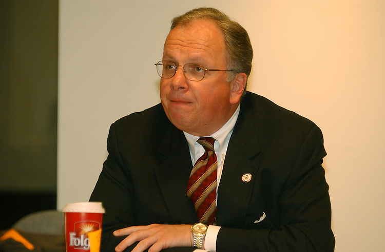 Reynolds5/021303 - An interview with NRCC Chairman Tom Reynolds at the Roll Call office.
