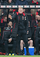 AFC Bournemouth Manager Eddie Howe during the Premier League match between Bournemouth and Arsenal at the Goldsands Stadium, Bournemouth, England on 14 January 2018. Photo by Andy Rowland.