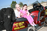 Lauren Faulkner at the Start of the Run of the Country Motorcycle Run at St.Itas School..Photo NEWSFILE/Jenny Matthews.(Photo credit should read Jenny Matthews/NEWSFILE)....This Picture has been sent you under the condtions enclosed by:.Newsfile Ltd..The Studio,.Millmount Abbey,.Drogheda,.Co Meath..Ireland..Tel: +353(0)41-9871240.Fax: +353(0)41-9871260.GSM: +353(0)86-2500958.email: pictures@newsfile.ie.www.newsfile.ie.FTP: 193.120.102.198.