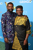 "LOS ANGELES - MAR 6:  David Oyelowo, Stephen Oyelowo at the ""Gringo"" Premiere at Regal LA Live on March 6, 2018 in Los Angeles, CA"