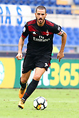 September 10th 2017, Olimpic Stadium, Rome, Italy; Serie A football league, Lazio versus AC Milan;   Leonardo Bonucci