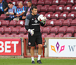 Darren Ward Sheffield Utd goalkeeping coach during the English League One match at Glanford Park Stadium, Scunthorpe. Picture date: September 24th, 2016. Pic Simon Bellis/Sportimage