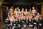 Isabella Convertino (daughter of Liz Keifer & Bobby) and the cast of the play 7 Samurai - December 7 - December 19, 2009 at the Phillipstown Depot Theatre, Garrison, New York. (Photo by Sue Coflin/Max Photos)