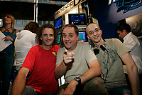 Montreal (Qc) CANADA - 2006  file Photo -<br /> Open Day at Musique PLus  in Montreal : Denis Talbot