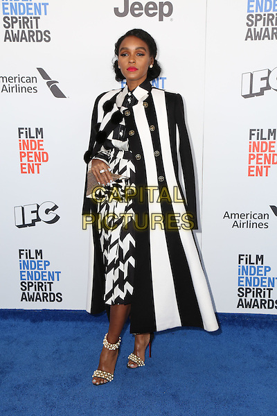 SANTA MONICA, CA - FEBRUARY 25: Janelle Monae attends the 2017 Film Independent Spirit Awards at Santa Monica Pier on February 25, 2017 in Santa Monica, California.  <br /> CAP/MPI/PA<br /> &copy;PA/MPI/Capital Pictures