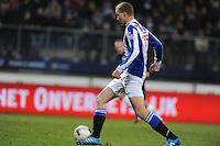 VOETBAL: HEERENVEEN: Abe Lenstra Stadion, 07-02-2015, Eredivisie, sc Heerenveen - PEC Zwolle, Eindstand: 4-0, Henk Veerman (#20), ©foto Martin de Jong