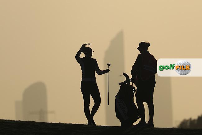 Emily Kristine Pedersen (DEN) during the second round of the Fatima Bint Mubarak Ladies Open played at Saadiyat Beach Golf Club, Abu Dhabi, UAE. 11/01/2019<br /> Picture: Golffile | Phil Inglis<br /> <br /> All photo usage must carry mandatory copyright credit (&copy; Golffile | Phil Inglis)