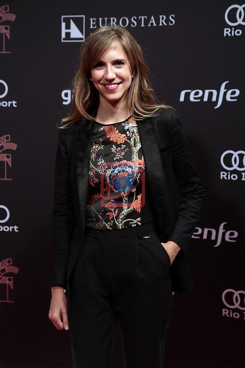 63 Premios Ondas.<br /> Photocall-Gala entrega de Premios.<br /> Aina Clotet.