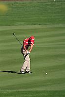Rafael Cabrera-Bello (ESP) on the third day of the DUBAI WORLD CHAMPIONSHIP presented by DP World, Jumeirah Golf Estates, Dubai, United Arab Emirates.Picture Fran Caffrey www.golffile.ie