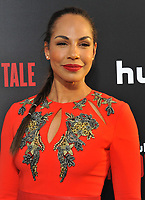 www.acepixs.com<br /> <br /> April 25 2017, LA<br /> <br /> Amanda Brugel arriving at the premiere of  'The Handmaid's Tale' at the ArcLight Cinemas Cinerama Dome on April 25, 2017 in Hollywood, California.<br /> <br /> By Line: Peter West/ACE Pictures<br /> <br /> <br /> ACE Pictures Inc<br /> Tel: 6467670430<br /> Email: info@acepixs.com<br /> www.acepixs.com