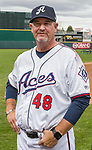 Manager Chris Cron during the Reno Aces 2019 Media Day at Greater Nevada Field in downtown Reno, Nevada on Monday, April 1, 2019.