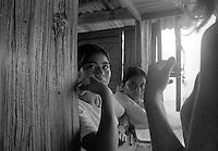 Portrait of 2 young women Mazunte, Oaxaca
