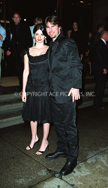 "Tom Cruise and Penelope Cruz arrive at Cipriani 42nd Street for the the world premiere afterparty of ""Minority Report"" in New York. June 17, 2002. Please byline: Alecsey Boldeskul/NY Photo Press.   ..*PAY-PER-USE*      ....NY Photo Press:  ..phone (646) 267-6913;   ..e-mail: info@nyphotopress.com"