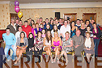 Stacey Horan and Aine O'Connor Scartaglen seated centre celebrated their 21st birthday with their family and friends in the River Island Hotel Castleisland on Saturday night