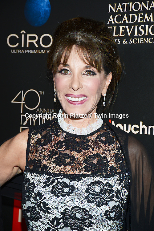 Kate Linder attends The 40th Annual Daytime Emmy Awards on<br />  June 16, 2013 at the Beverly Hilton Hotel in Beverly Hills, California.