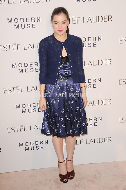 WWW.ACEPIXS.COM<br /> September 12, 2013...New York City<br /> <br /> Amy Astley and Hailee Steinfeld attending the Estee Lauder 'Modern Muse' Fragrance Launch Party at the Guggenheim Museum on September 12, 2013 in New York City.<br /> <br /> Please byline: Kristin Callahan/Ace Pictures<br /> <br /> Ace Pictures, Inc: ..tel: (212) 243 8787 or (646) 769 0430..e-mail: info@acepixs.com..web: http://www.acepixs.com