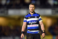 Jack Wilson of Bath Rugby. Aviva Premiership match, between Bath Rugby and Wasps on December 29, 2017 at the Recreation Ground in Bath, England. Photo by: Patrick Khachfe / Onside Images
