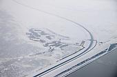 Luchtfoto Hoek van de Bant - Lauwersmeergebied