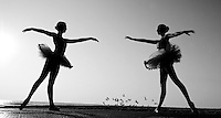 Dancer Series--Madelyn Wilson and Ariel Newman at Jacksonville Beach, Fl. Saturday February 11, 2012.