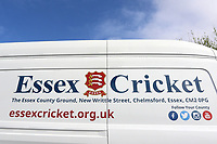 Essex Cricket signage during Essex CCC vs Durham MCCU, English MCC University Match Cricket at The Cloudfm County Ground on 4th April 2017