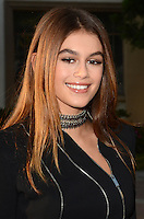 "LOS ANGELES, CA - AUGUST 31: Kaia Gerber at the ""Sister Cities"" Los Angeles Premiere at Paramount Studios in Los Angeles, California on August 31, 2016. Credit: David Edwards/MediaPunch"