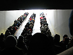 People pack onto escalators in transit to attend the inauguration of US President Barack Obama, Tuesday, Jan. 20, 2009, in Washington, D.C. (Tricia Buchhorn/pressphotointl.com)