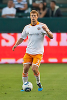 CARSON, CA – July 23, 2011: Houston Dynamo defender Andre Hainault (31) during the match between Chivas USA and Houston Dynamo at the Home Depot Center in Carson, California. Final score Chivas USA 3, Houston Dynamo 0.