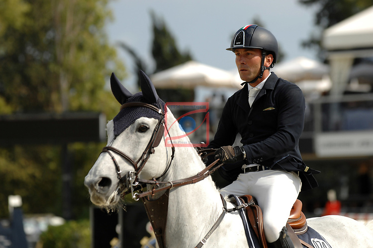 CSIO Barcelona 2018.<br /> Longines-Jumping Nations Cup-Barcelona 2018.<br /> Riccardo Pisani.