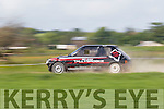Get Lynch from Abbeyfeale gets the most out of his Peugeot 205 at the Kerry Motor Clubs annual rallysprint in Ballybeggan, Tralee last Sunday