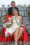 FESTIVAL QUEEN: Elizabeth Fitzgerald, Killiney who was crowned 2008 Festival Queen of Castlegregory pictured on Sunday during the Grand Parade with Chloe Fitzgerald and Greg Moriarty.   Copyright Kerry's Eye 2008