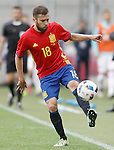 Spain's Jordi Alba during friendly match. June 1,2016.(ALTERPHOTOS/Acero)