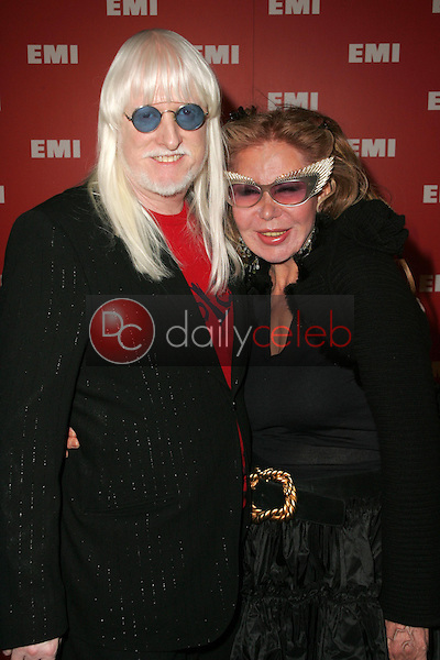 Edgar Winter and wife<br />at EMI's Post-Grammy Bash. Paramount Studios, Hollywood, CA. 02-08-06<br />Dave Edwards/DailyCeleb.com 818-249-4998