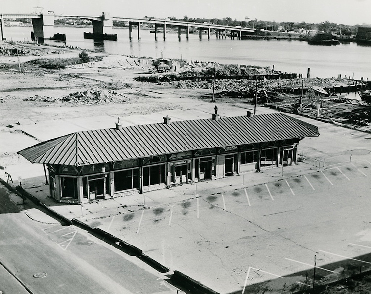 1964 November 15..Redevelopment..Downtown South (R-9)..Ferry Terminal.original location..Jim Robbins.NEG# copy MDA70-58-2.NRHA# 2026..