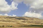 Israel, Crusader fortress Belvoir overlooking the Jordan Valley