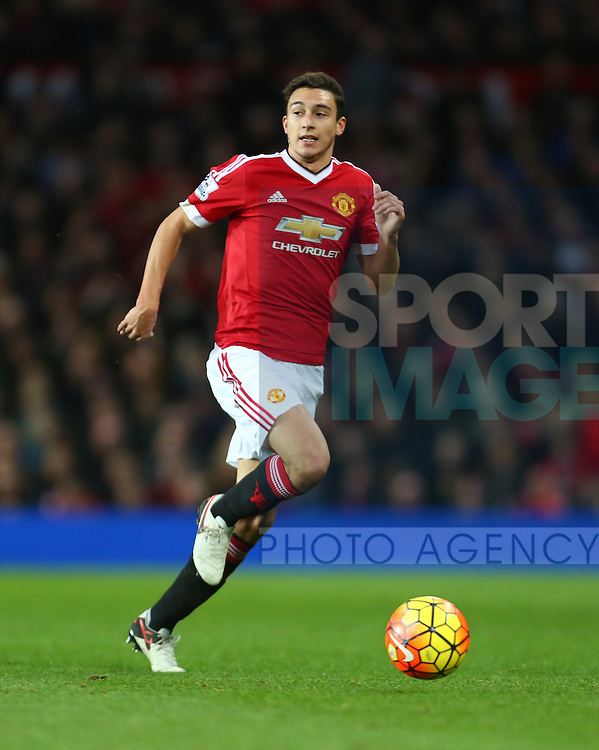 Matteo Darmian of Manchester United - Manchester United vs West Ham United - Barclay's Premier League - Old Trafford - Manchester - 05/12/2015 Pic Philip Oldham/SportImage