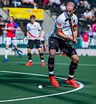 AMSTELVEEN - Billy Bakker (Adam)  tijdens  de hoofdklasse competitiewedstrijd hockey heren,  Amsterdam-SCHC (3-1). COPYRIGHT KOEN SUYK