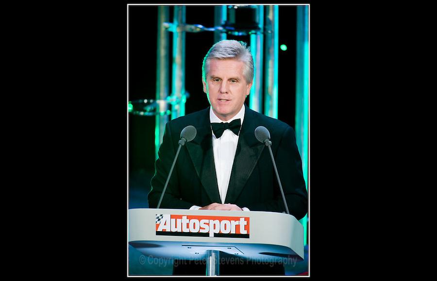 Steve Rider - Autosport Awards 2008 - Grosvenor House Hotel - London - Mirage Events Ltd