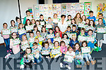 Book Feast<br /> ---------------<br /> Mayor of Tralee, Norma Foley sits amongst all the young readers after she presented them all individually with their Certs they got for taking part in the Tralee Library Summer Reading Adventure last Saturday.
